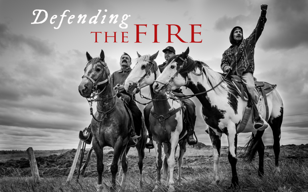 Defending the Fire is nominated for a regional Emmy