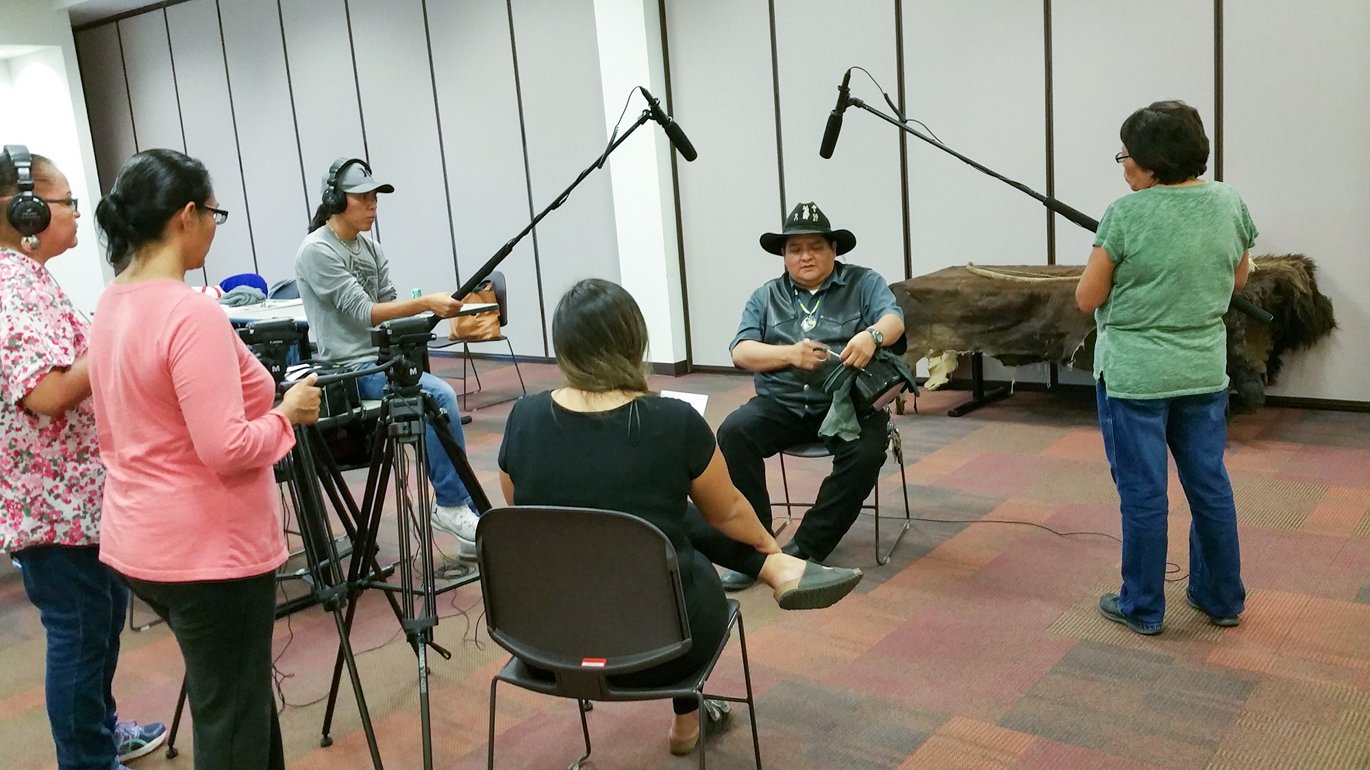 Jicarilla Apache Nation filmmaking workshop