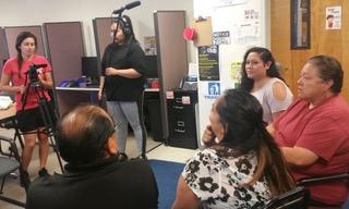 Sandia Pueblo film workshop