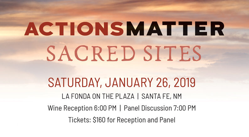 Actions Matter – Sacred Sites