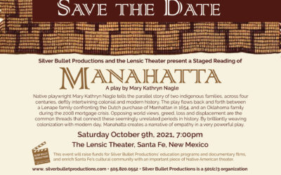 Manahatta Staged Reading on Oct. 9