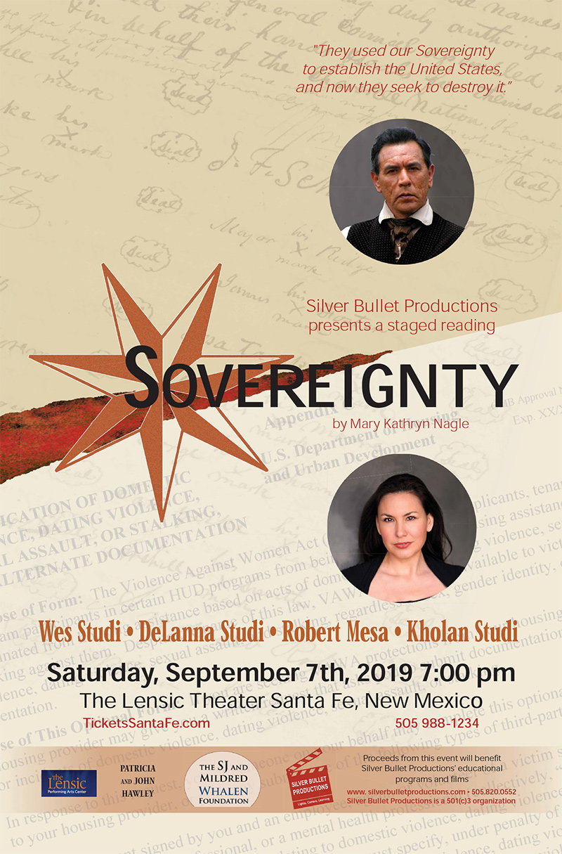 Sovereignty: A Staged Reading – September 7 | Silver Bullet Productions