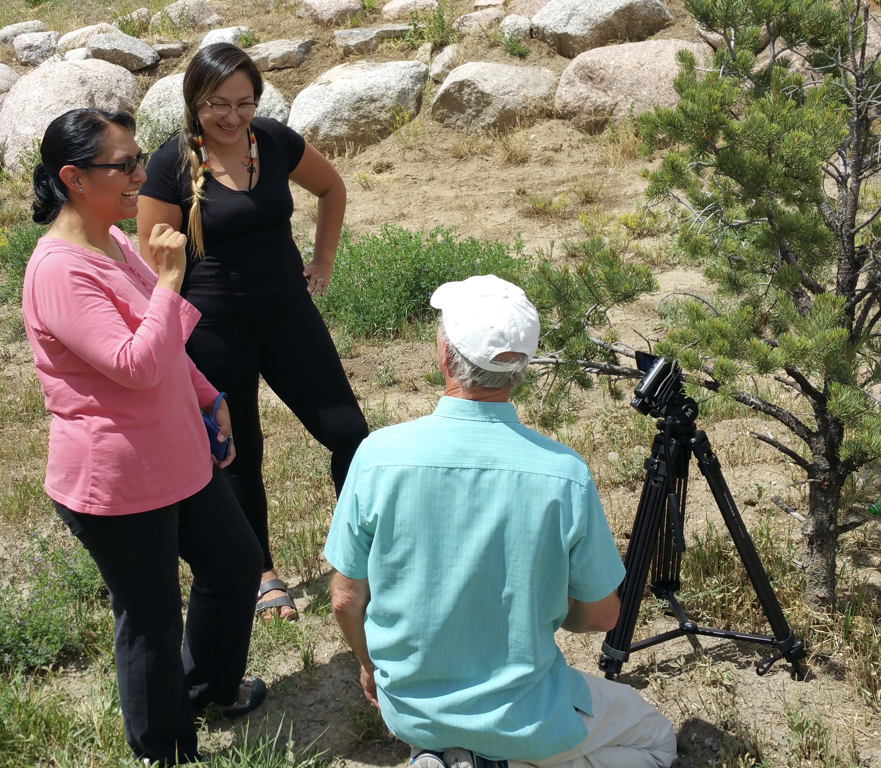 Jicarilla Apache film workshop